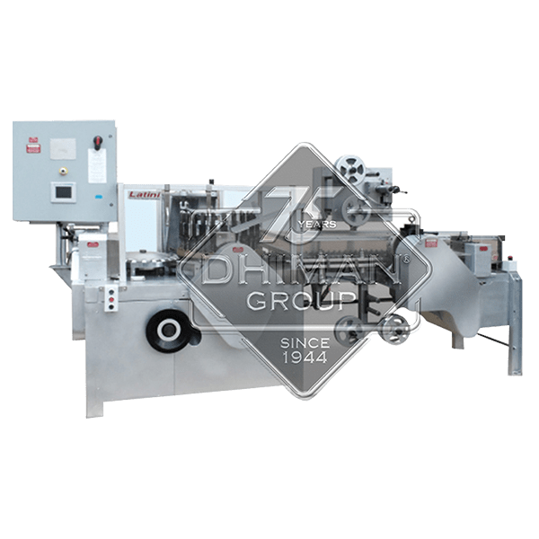 CONTINUOUS DIE POP FORMING AND PACKING MACHINE HLM – 2000