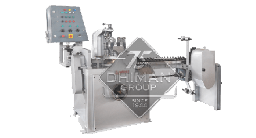 CONTINUOUS DIE POP FORMING AND PACKING MACHINE DPW SD