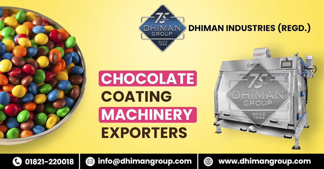 Looking for new Chocolate Coating Machinery Exporters? Not sure How To Pick The Right One?