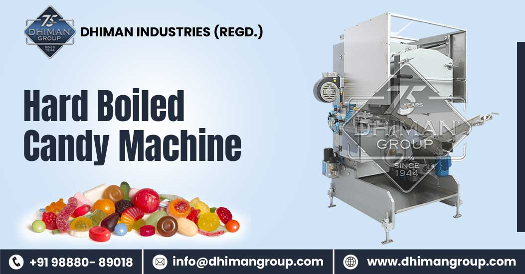 Get The Best Results With Our Hard Boiled Candy Machine