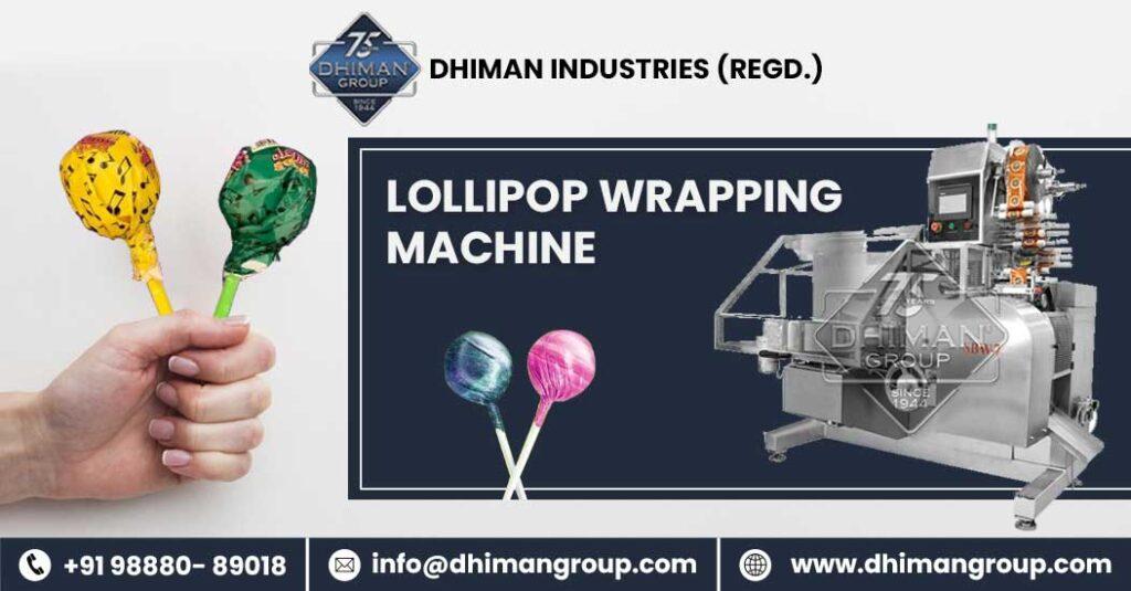 lollipop wrapping machine